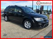 2013 Fiat Freemont JF Urban Wagon 5dr Auto 6sp 2.4i [Dec] Black undefined for Sale